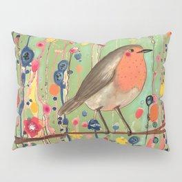 je ne suis pas qu'un oiseau revisited Pillow Sham