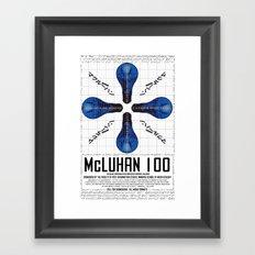 McLuhan 100  Framed Art Print