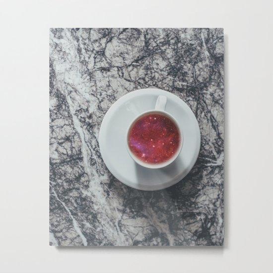 COFFEE PORTAL TO THE UNIVERSE Metal Print