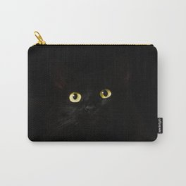 Black Cat Eyes Carry-All Pouch