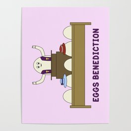 Eggs Benediction Poster