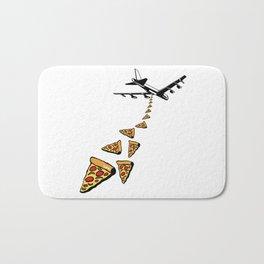 No war more pizza Bath Mat