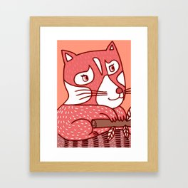 Red Panda Framed Art Print