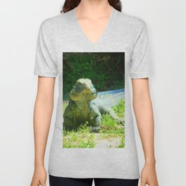 Iguana and Chill Unisex V-Neck