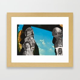 You: Silhouette Series #6 Framed Art Print