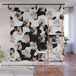 FAB pattern Wall Mural