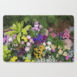 Floral Spectacular - Spring Flower Show Cutting Board