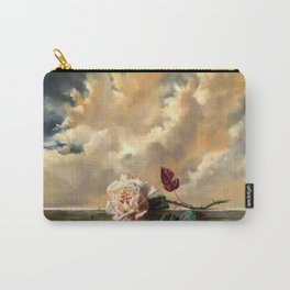 Rose on the parapet Carry-All Pouch