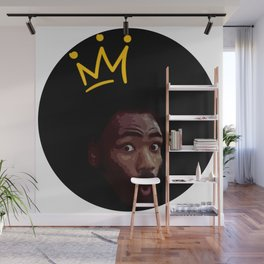 Childish Gambino This is America vector illustration Wall Mural