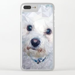 Roscoe Dog Clear iPhone Case