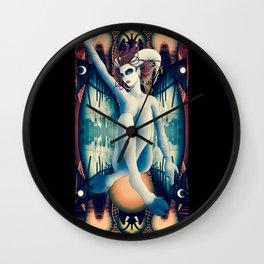 Baphomet Deck Wall Clock
