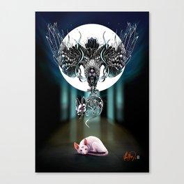 Rat Meditation: Dread Canvas Print