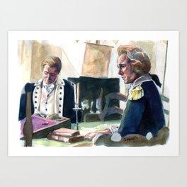 Ben and Alex Art Print
