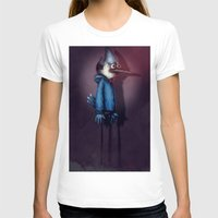 regular show T-shirts featuring Mordecai from Regular Show by Chuck Jackson