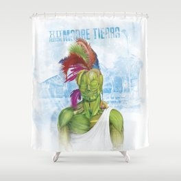 BEing Nature-Mother Earth Fest Shower Curtain