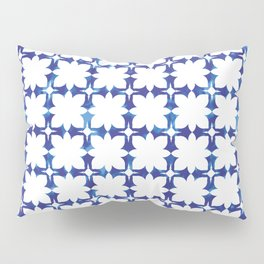 blue morrocan dream no1 Pillow Sham