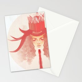 Crown Ruby Stationery Cards