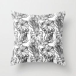 Tillandsia Tile Throw Pillow