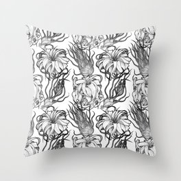 Tillandsia Tile Throw Pillow