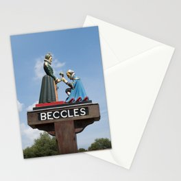 Beccles Town Sign Stationery Cards