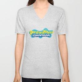 PoriferaRobert TetragonTrousers Unisex V-Neck