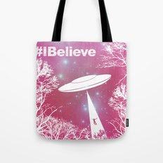 #Ibelieve UFO Tote Bag