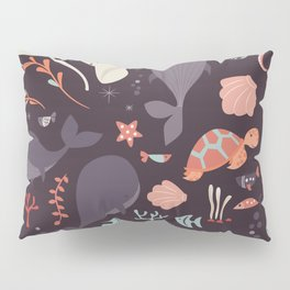Sea creatures 002 Pillow Sham
