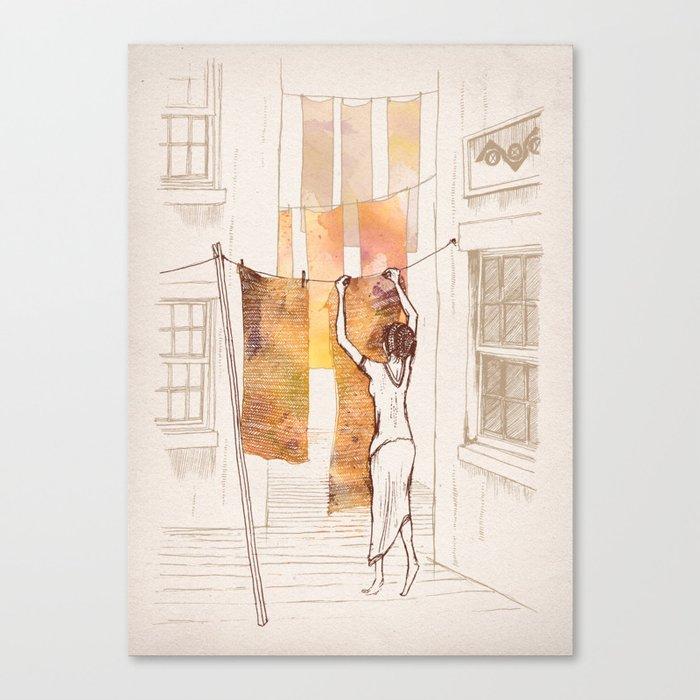 Bea Canvas Print