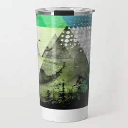 Abstract Geometry V3  Travel Mug
