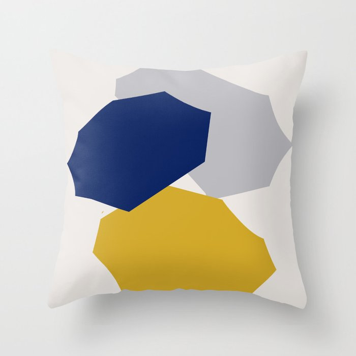 Abstraction_SHAPES_003 Throw Pillow