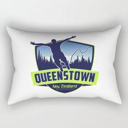 Queenstown, New Zealand Rectangular Pillow