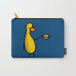 Saturn Duck | Veronica Nagorny Carry-All Pouch
