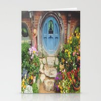 hobbit Stationery Cards featuring Hobbit Hole by Tianna Chantal