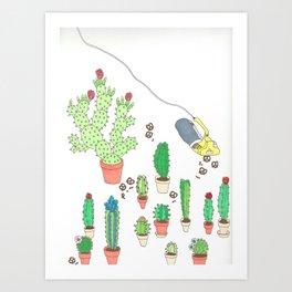 garden snacker III Art Print