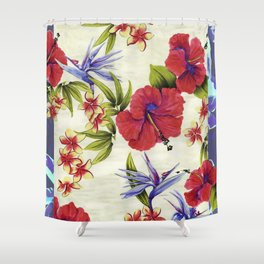 Paradise Party Shower Curtain