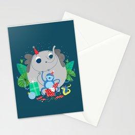 Monkey Birthday Gifts Stationery Cards