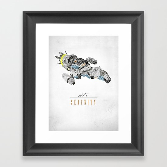 The Serenity Framed Art Print