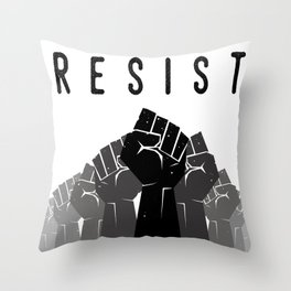 Resist Throw Pillow