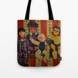 Frightening Haunted Tote Bag