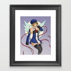 Noel Vermillion Framed Art Print