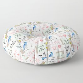 Inspiration Affirmation Floor Pillow