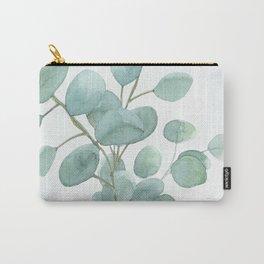 Eucalyptus Silver Dollar Carry-All Pouch