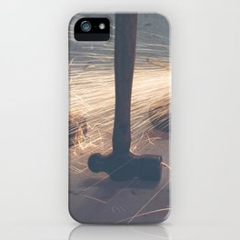 sparks iPhone Case