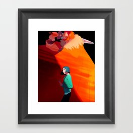 The Boy and the King Framed Art Print