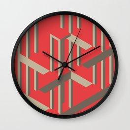 Illusion - Exploration Wall Clock