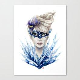 Ice Masquerade Canvas Print