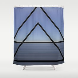 SILVER 9 Shower Curtain
