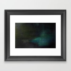 States of summer night warmth: 59°F Framed Art Print