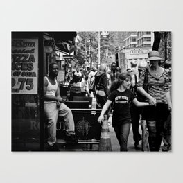 NYC Urban Typology Canvas Print