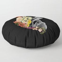 Flower Heart Spring Floor Pillow